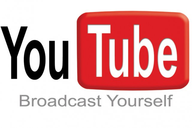 Le logo de YouTube...