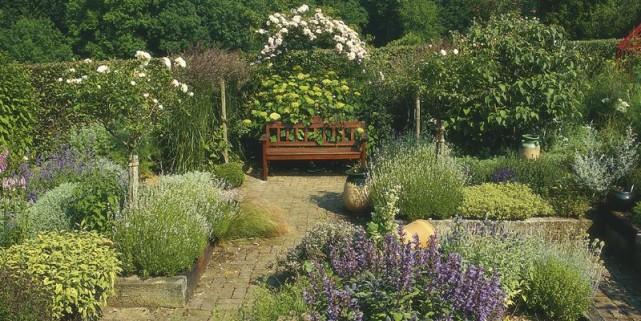 Jardin en qu te d 39 intimit lilianne lacroix cour - Treillis pour terrasse ...