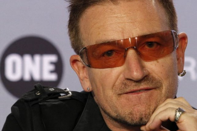 Le chanteur de U2, Bono... (Reuters)
