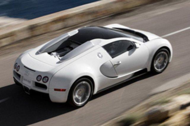 La Veyron 16.4 Grand Sport de Bugatti...