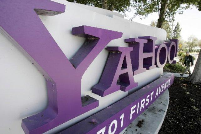 Le bureau de Yahoo! en Californie... (AP)