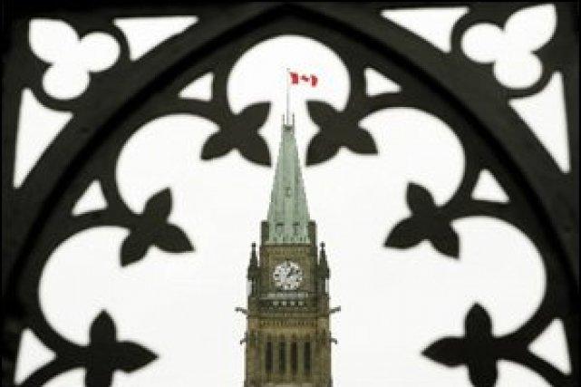 Le Parlement à Ottawa.... (Photo PC)