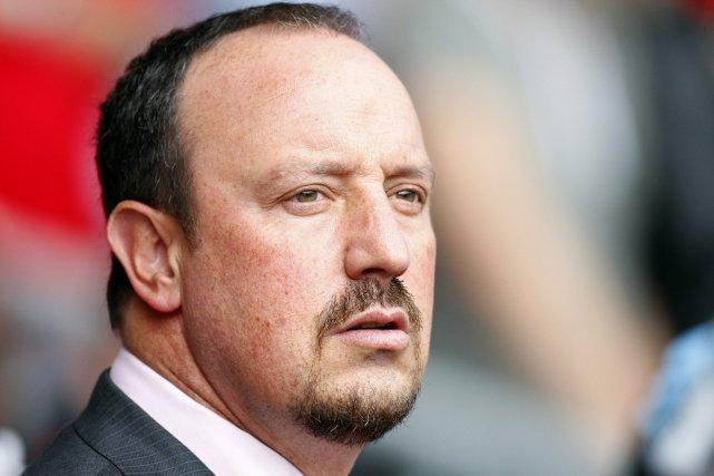 Rafael Benitez... (Photo AFP)