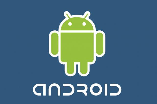 Le logo d'Android de Google...