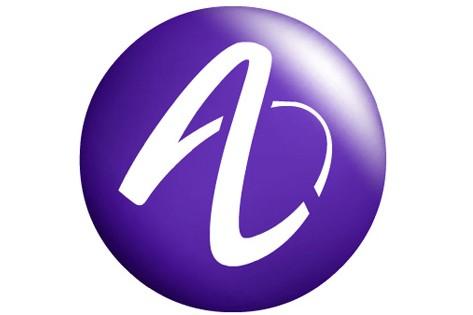 Le logo d'Alcatel-Lucent...