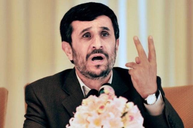 Le président iranien Mahmoud Ahmadinejad... (Photo: AFP)
