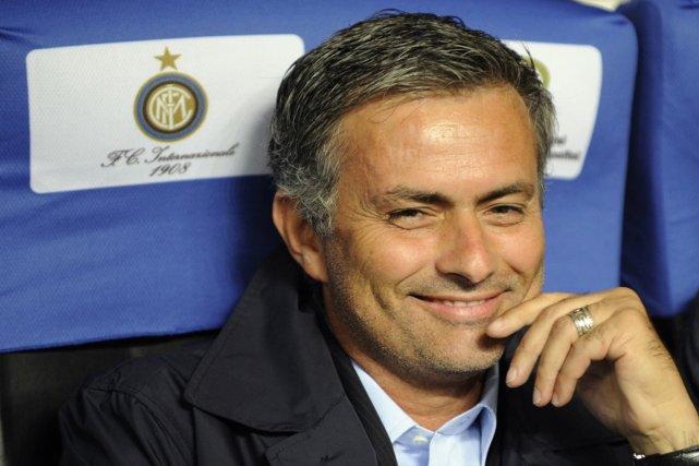 Jose Mourinho... (Photo AFP)