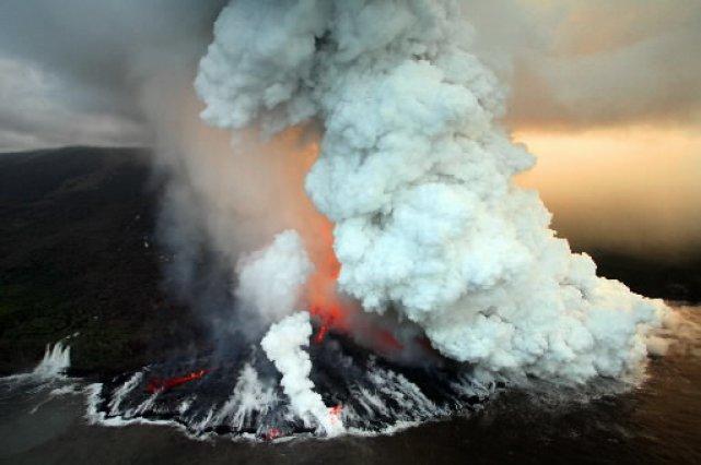 la plus grande eruption volcanique