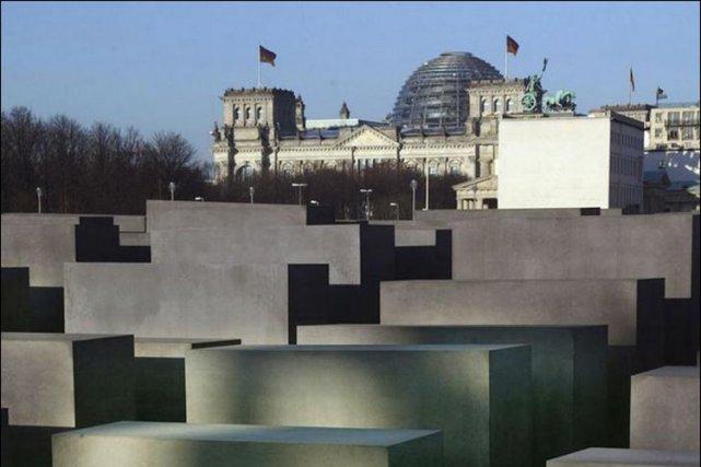 Le monument commémoratif érigé à la mémoire de... (Photo: AFP)