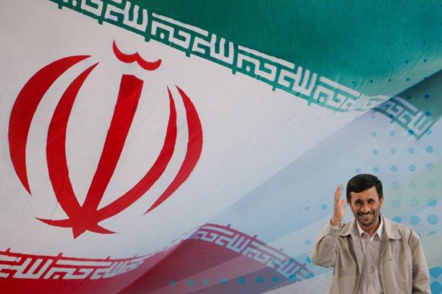 Le président de l'Iran Mahmoud Ahmadinejad.... (Photo: AFP)