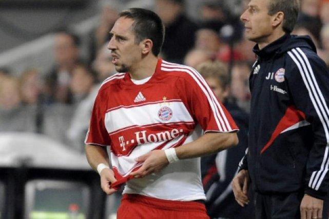 Le Français Franck Ribéry... (Photo: AFP)