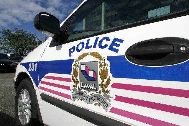 Après avoir séquestré le gérant d'un restaurant de Laval, tard hier soir, cinq... (Archives La Presse)