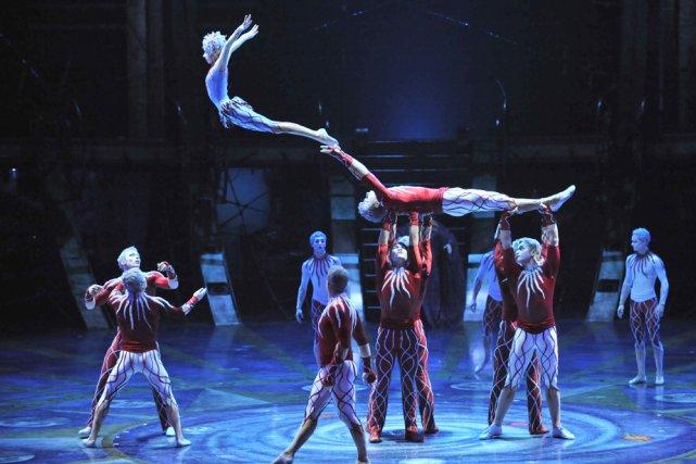 Zed... (Photo: Cirque du Soleil)