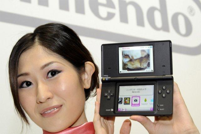 La console de poche «DSi» de Nintendo... (AP)