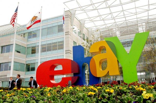 Le siège social d'eBay à San Jose en... (AP)