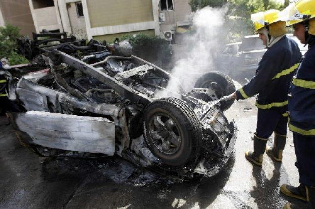 Au moins 48 personnes ont péri mercredi dans une série d'attentats à Bagdad,... (Photo: AFP)
