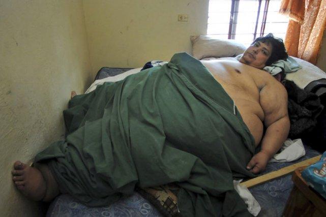 gros homme du monde