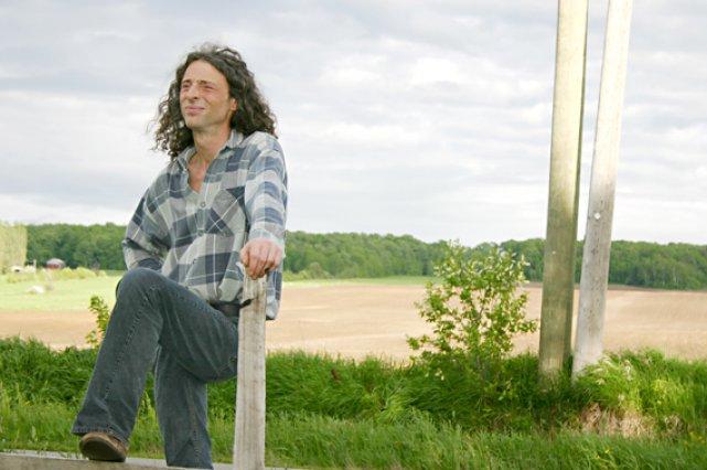 Jacques Legros, candidat dans Montmorency–Charlevoix–Haute-Côte-Nord, est lui-même agriculteur... (Photo Jacques Legros)