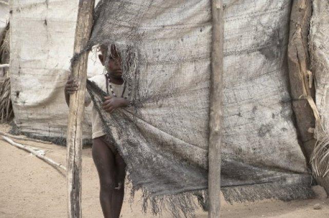 Un camp de réfugiés du Darfour... (Photo: Archives, Stéphanie Lapointe)
