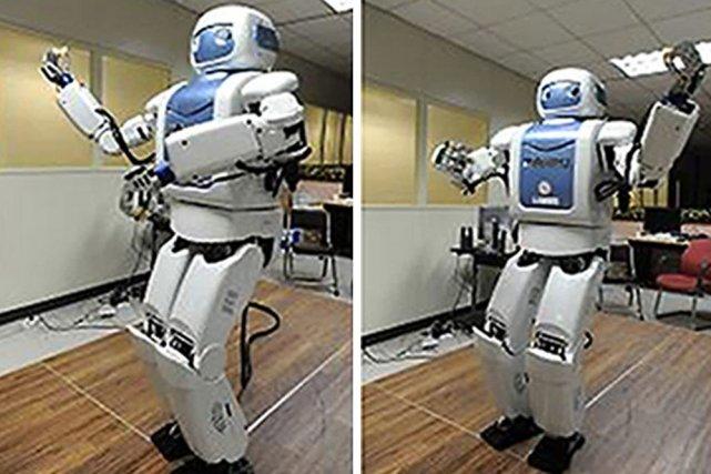 Le robot sud-coréen Mahru... (AFP)