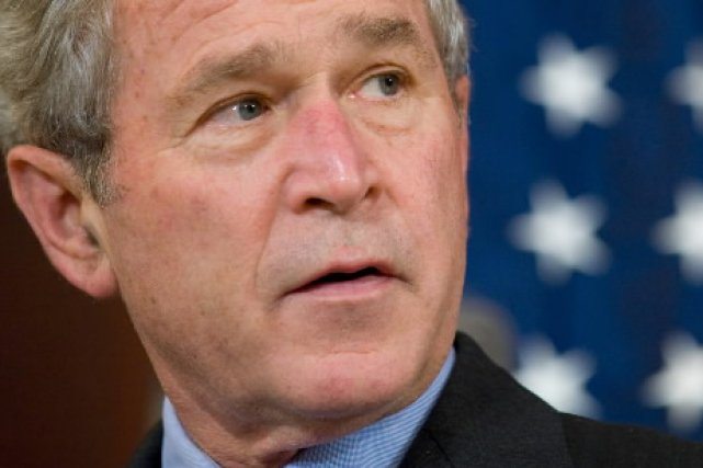George W. Bush... (Photo: AFP)
