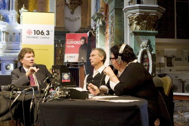 Zachary Richard (au centre) était l'invité de Monique... (Photo: Le Soleil)
