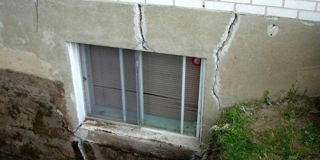 Les fissures dans les fondations sont une des... (Photothèque Le Soleil)