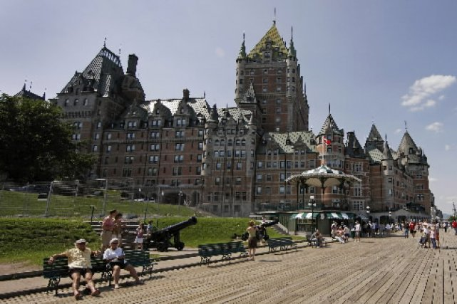 Le château Frontenac.... (Photo: Reuters)