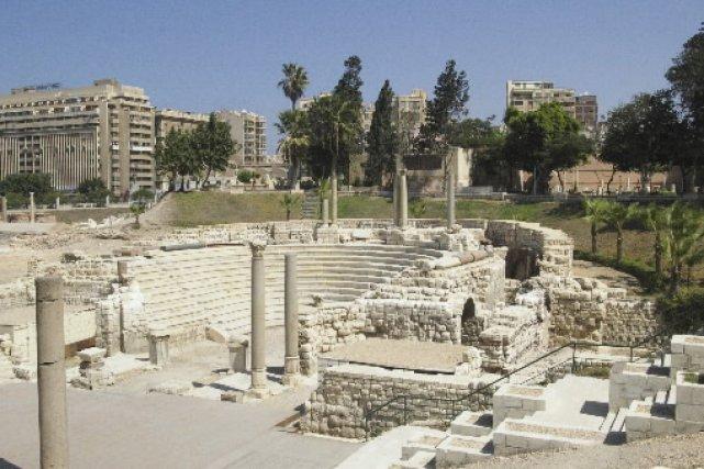 Construit au IIe siècle, c'est le seul amphithéâtre... (Photo: Janie Gosselin, La Presse)