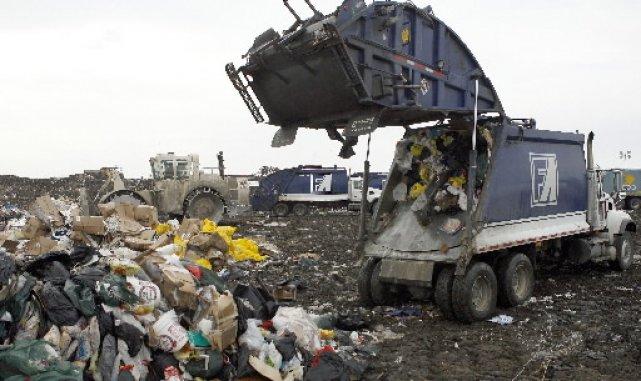 Un site d'enfouissement des déchets... (Photo: La Presse)