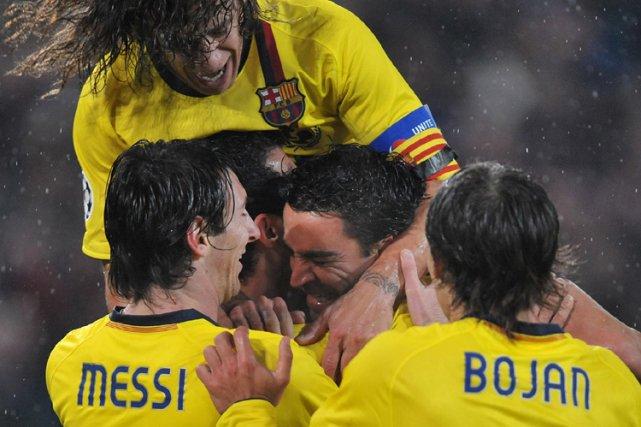 Le FC Barcelone rencontrera Lyon, Arsenal, Chelsea ou... (Photo: AFP)