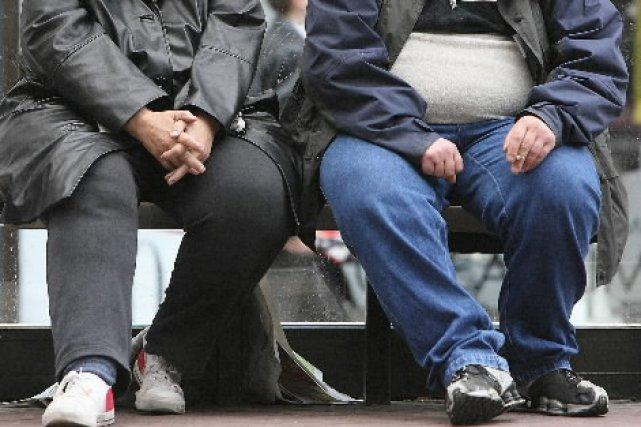 Un adulte sur trois en Angleterre sera obèse en 2012 quand Londres accueillera... (Photo: AFP)