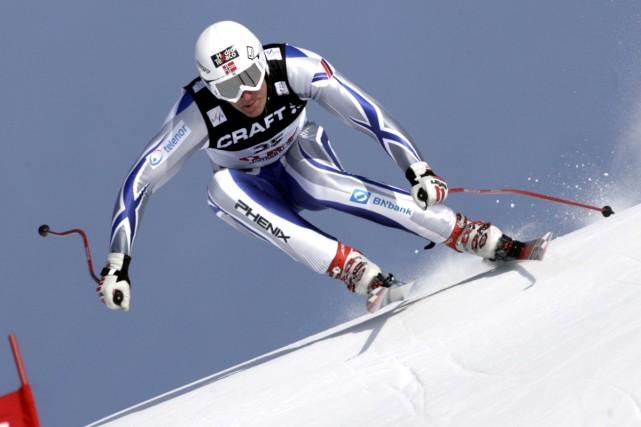 Aksel Lund Svindal... (Photo: AP)