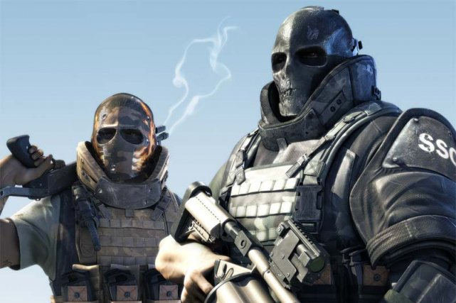 Le jeu Army of Two d'Electronic Arts... (Wallhits.com)