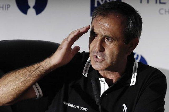 Severiano Ballesteros... (Photo: AFP)