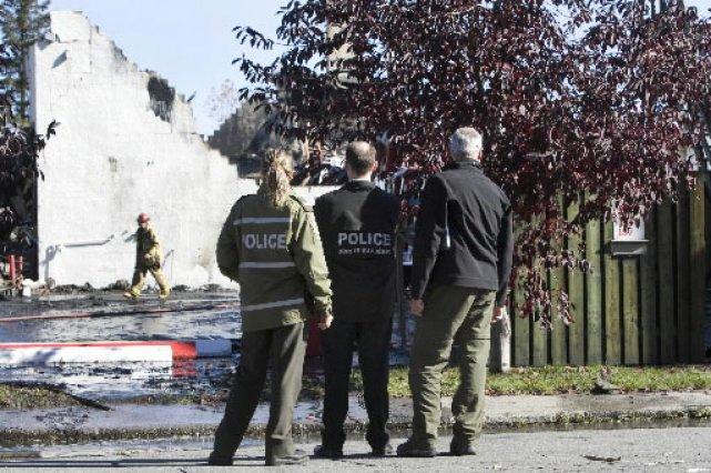 Steve Carbonneau, l'accusé principal dans le rocambolesque incendie du bunker... (Photo: Robert Skinner, La Presse)