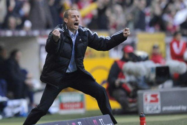 L'entraîneur de Munich, Juergen Klinsmann... (Photo: AP)