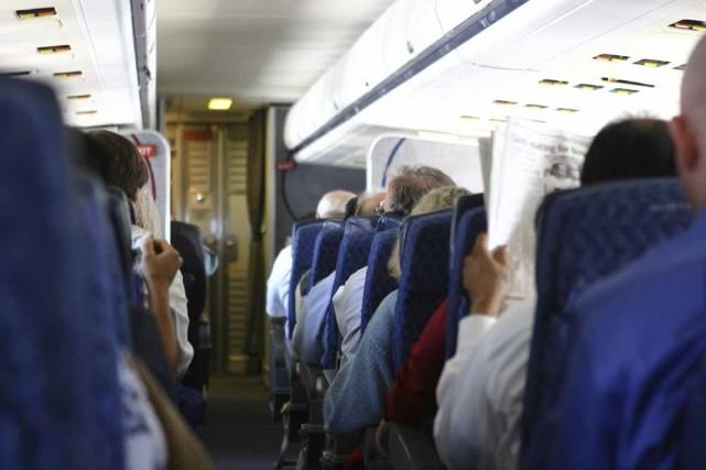Le transport en avion peut vous causer des... (Photo: archives La Presse)