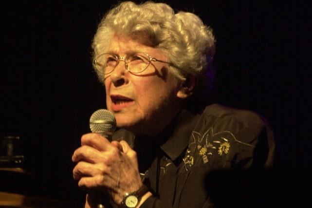 La chanteuse Clairette Oddera, pionnière des boîtes à... (Photo: archives La Presse)