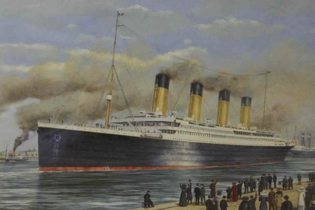 le titanic accoste au coeur de montr al alain de. Black Bedroom Furniture Sets. Home Design Ideas