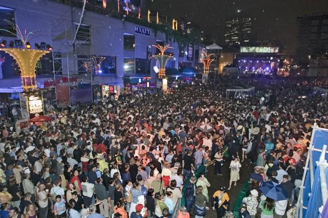 Le Festival de jazz, fort populaire auprès des... (Photo: archives La Presse)