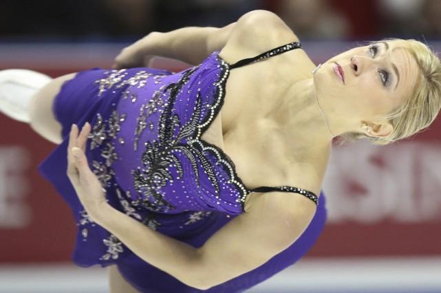 Joannie Rochette... (Photo: Reuters)