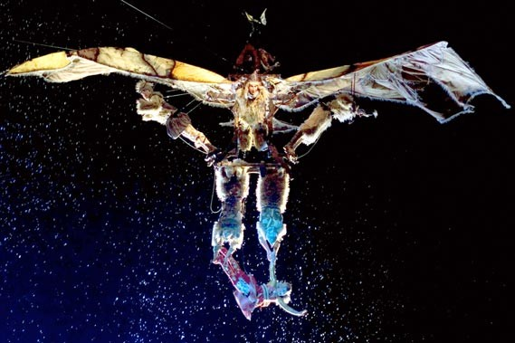 Une scène du spectacle Kà, conçu par Robert... (Photothèque Le Soleil)