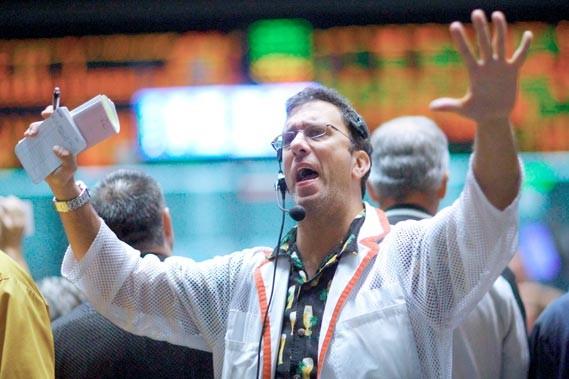 À la Bourse de Chicago comme à New... (Reuters)