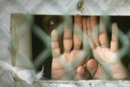 Mustafa Ait Idir, 38 ans, un des cinq ex-détenus d'origine algérienne libérés... (Photo: AP)