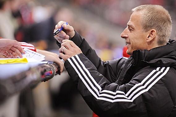Jürgen Klinsmann... (AFP)