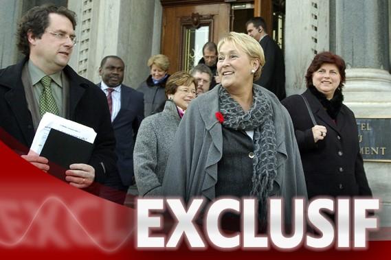 Le Parti québécois se lance en campagne électorale les coffres désespérément... (Photo: Erick Labbé, Le Soleil)