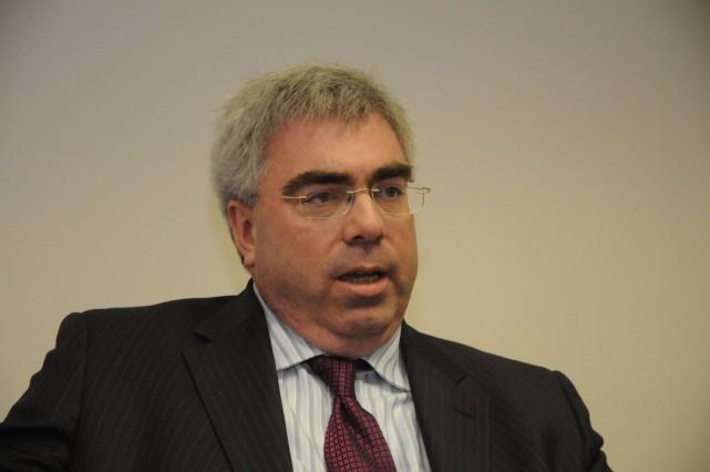 Le candidat adéquiste Mario Charpentier.... (photo Janick Marois)