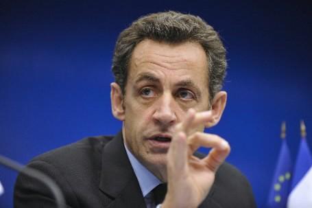 Nicolas Sarkozy... (Photo: Bloomberg)