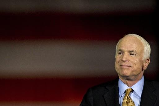 John McCain... (Photo: Bloomberg)